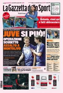 gazzetta5 204x300 La Gazzetta dello Sport / Juve si puo