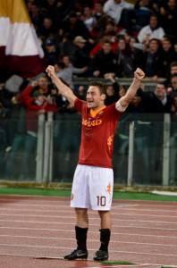 Roma-Parma / Gol Totti: raggiunge quota 226 in Serie A