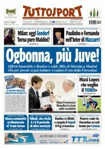 Tuttosport / Ogbonna, piu' Juve!