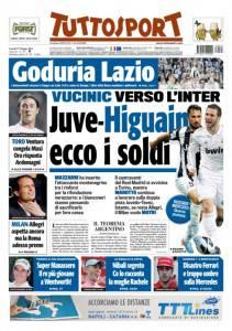 Tuttosport/ Juve-Higuain, ecco i soldi