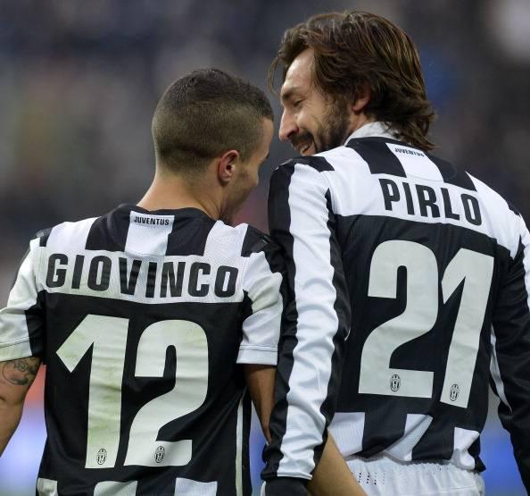 Pirlo e Giovinco (Getty Images)