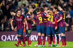 Giocatori Barcellona (Getty Images)