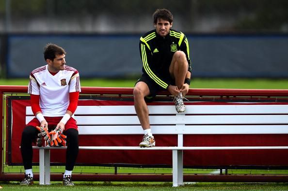 Javi Martinez e Casillas (Getty Images)