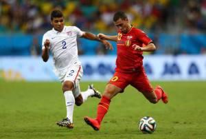 Hazard e Yedlin (Getty Images)