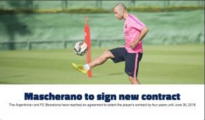 Mascherano (Fcbarcelona.com)