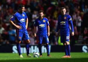 van Persie, Mata e Rooney (Getty Images)