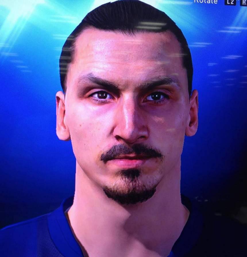 Pes2015 Ibrahimovic