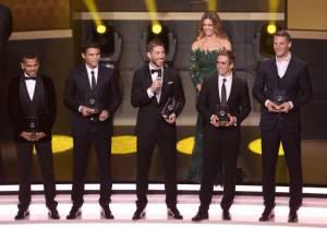 Dani Alves, Thiago Silva, Sergio Ramos, Lahm e Neuer (Getty Images)
