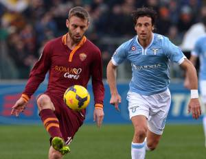 Mauri e De Rossi (Getty Images)