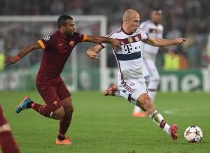 Ashley Cole e Robben (Getty Images)