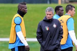 Balotelli- Mourinho (Getty IMages)