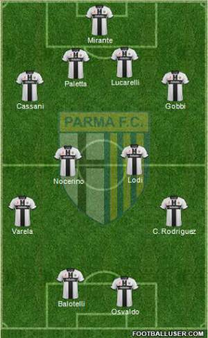 Top 11 Parma