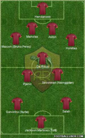 Top 11 Roma