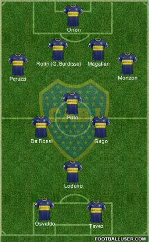 Top 11 Boca Juniors