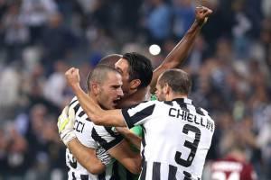 Chiellini e Bonucci (Getty Images)