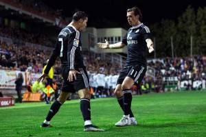 Ronaldo e Bale (Getty Images)