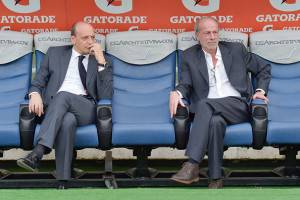 Sabatini e Baldissoni (Getty Images)
