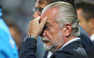 Real Madrid-Napoli, De Laurentiis