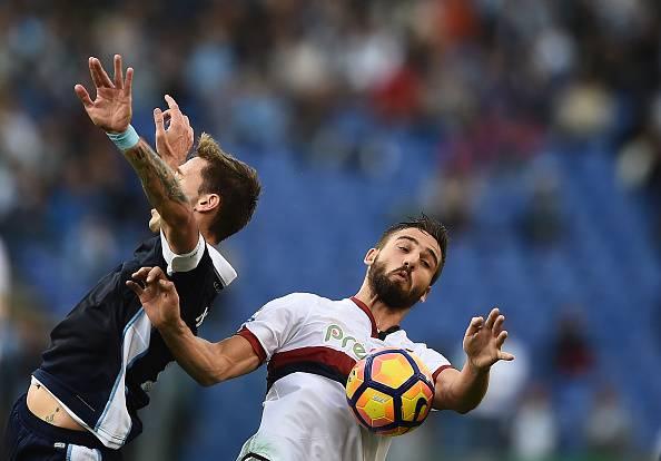 Infortunio Pavoletti: trauma contusivo del gionocchio, salterà la sfida con la Juve