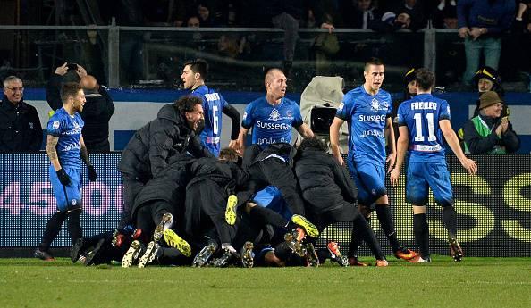Serie A, l'Atalanta vince al fotofinish: 2-1 all'Empoli in pieno recupero