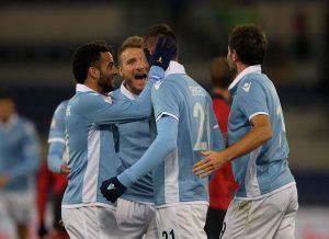 Coppa Italia, Lazio-Genoa 4-2