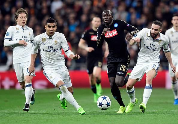 Voti Real Madrid-Napoli
