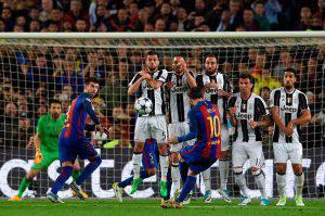 Voti Barcellona-Juventus