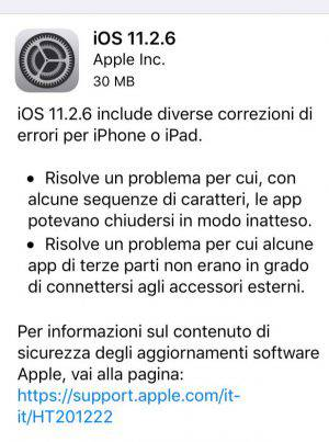 iPhone aggiornamento iOS bug indiano