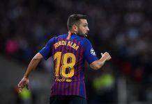 Calciomercato Juventus rinnovo contratto Alex Sandro scambio Jordi Alba Barcellona