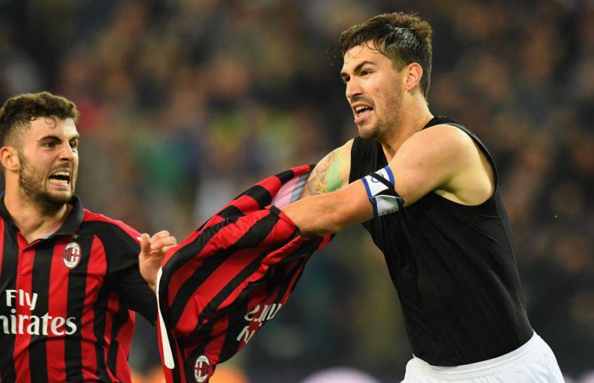 Romagnoli Udinese Milan