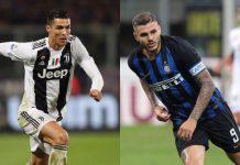 Ronaldo e Icardi