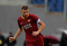 Calciomercato Roma Dzeko Inter Everton