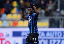 Duvan Zapata Roma Inter