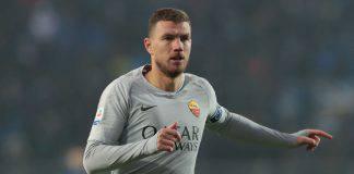 Calciomercato Roma Dzeko Inter