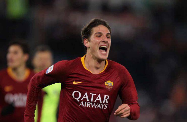 Calciomercato Roma rinnovo contratto Zaniolo Real Madrid Juventus