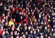 Southampton tifosi sala Cardiff