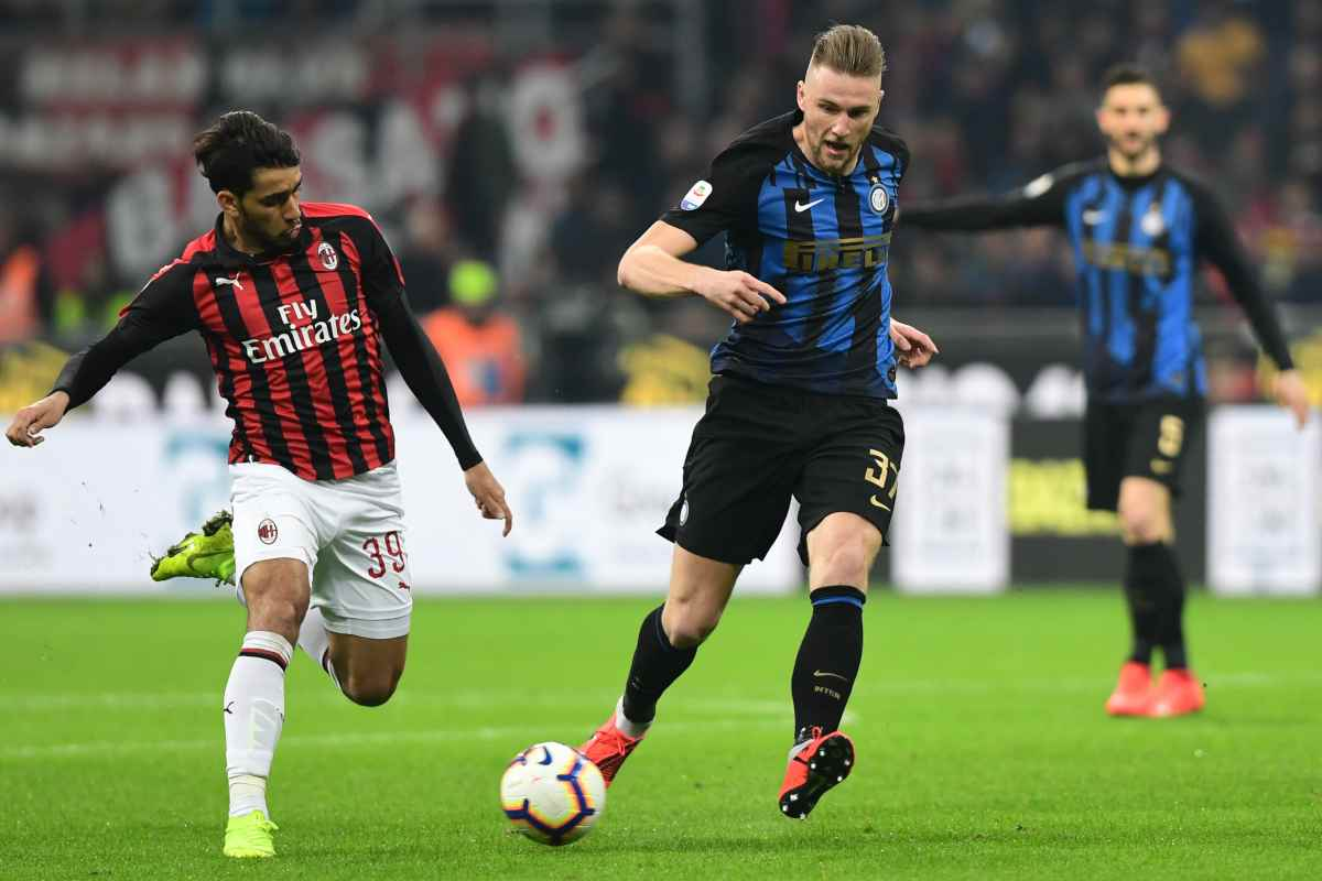 Calciomercato Inter Skriniar Atletico Madrid