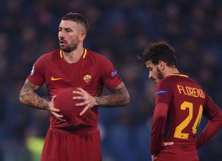 Inter Roma Kolarov Florenzi
