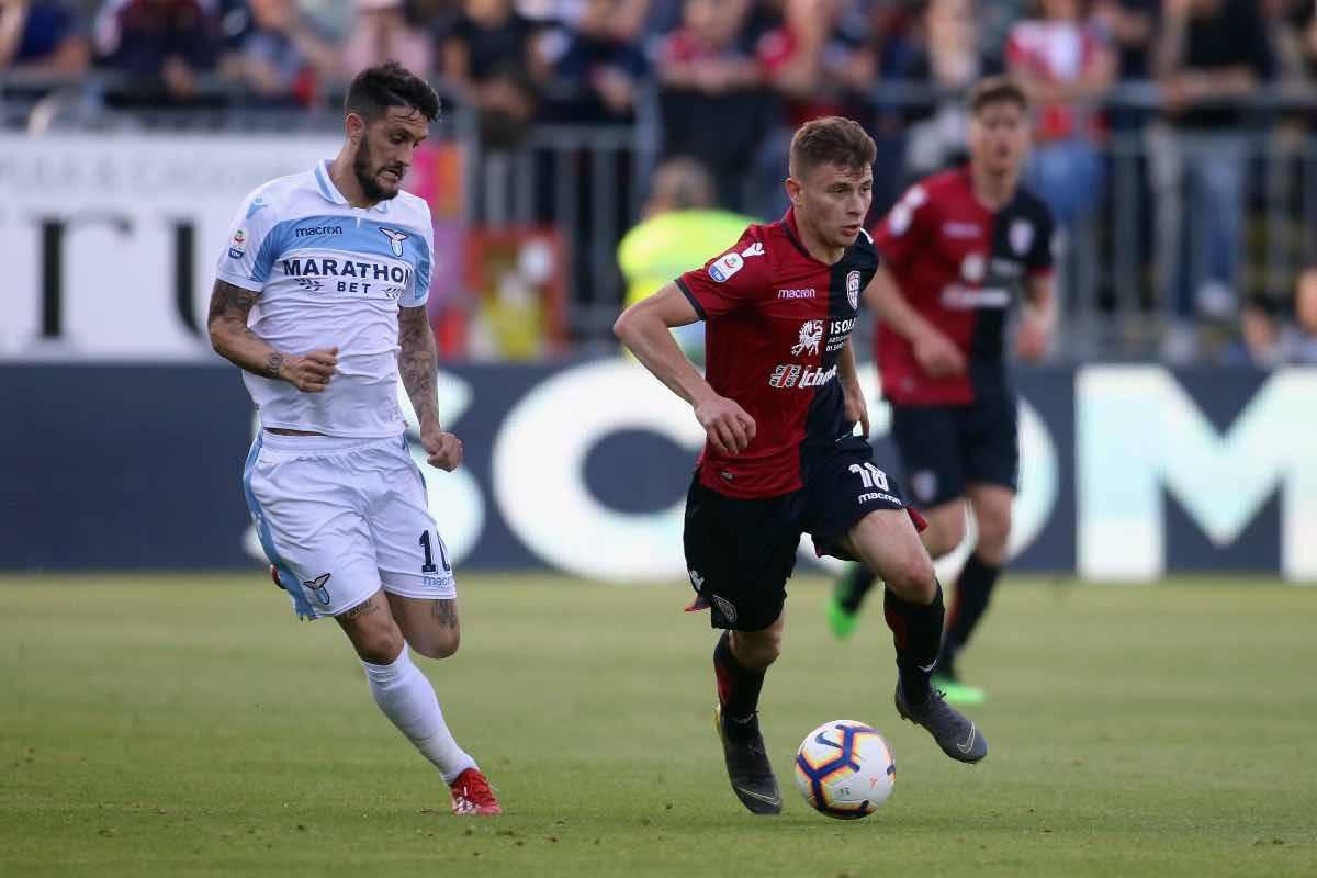 calciomercato Inter Barella Roma Cagliari
