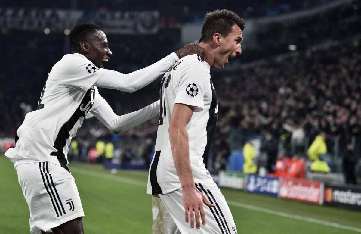 calciomercato Juventus Tottenham Mandzukic Matuidi Milan