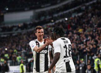 Juventus Mandzukic Kean