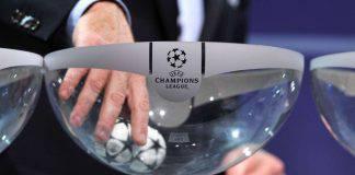 sorteggi gironi Champions League Juve Napoli Atalanta Inter