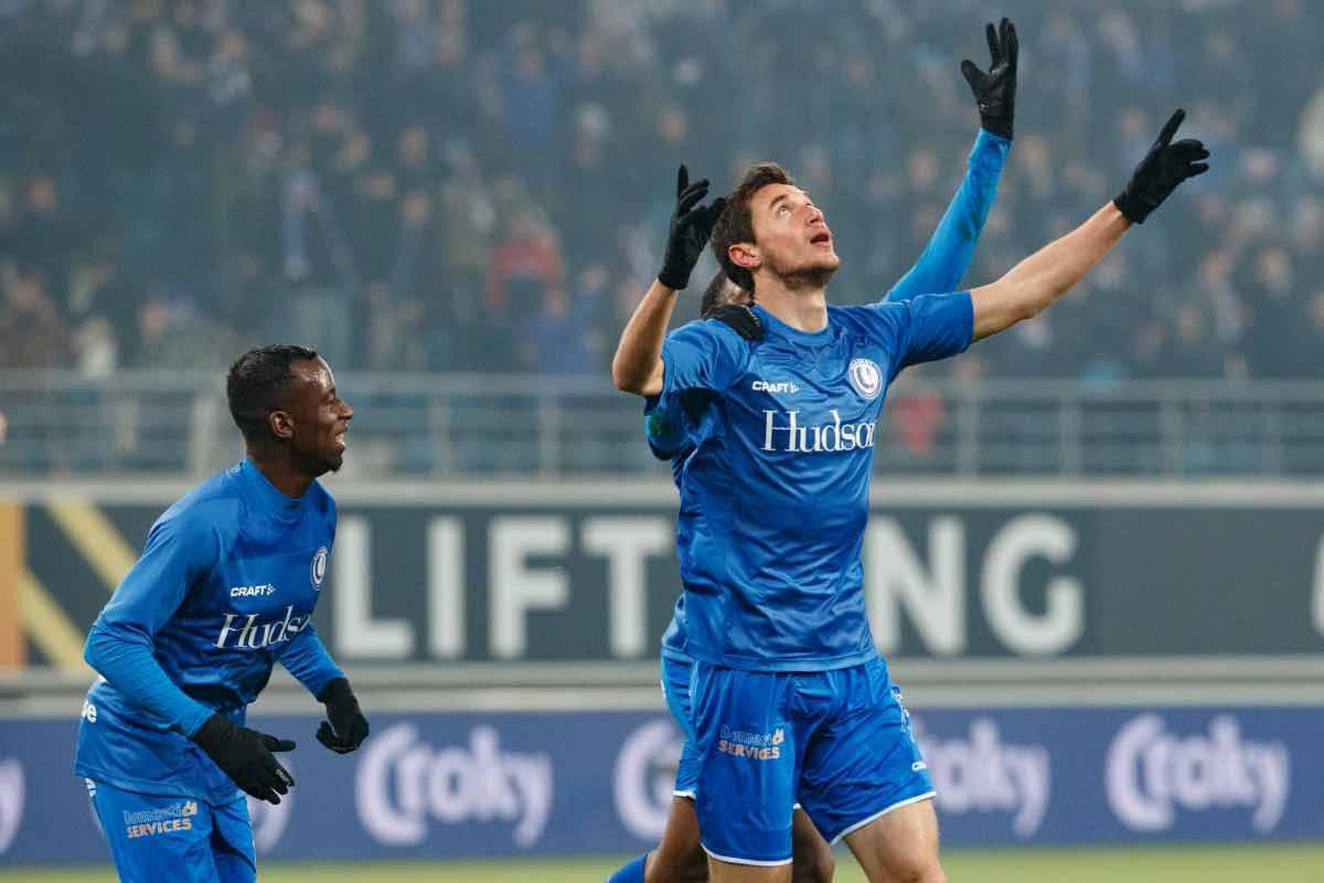 calciomercato Roma Yaremchuk Gent