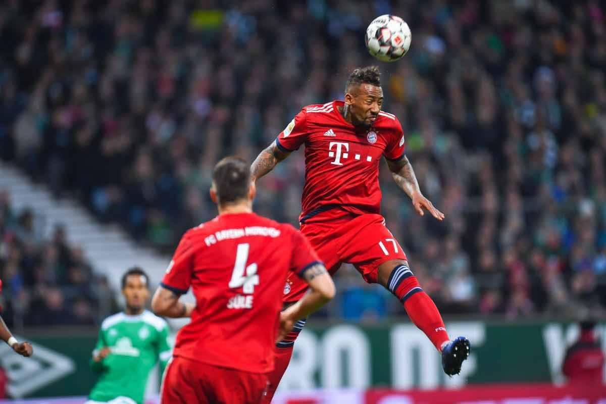calciomercato Roma Jerome Boateng Bayern Monaco