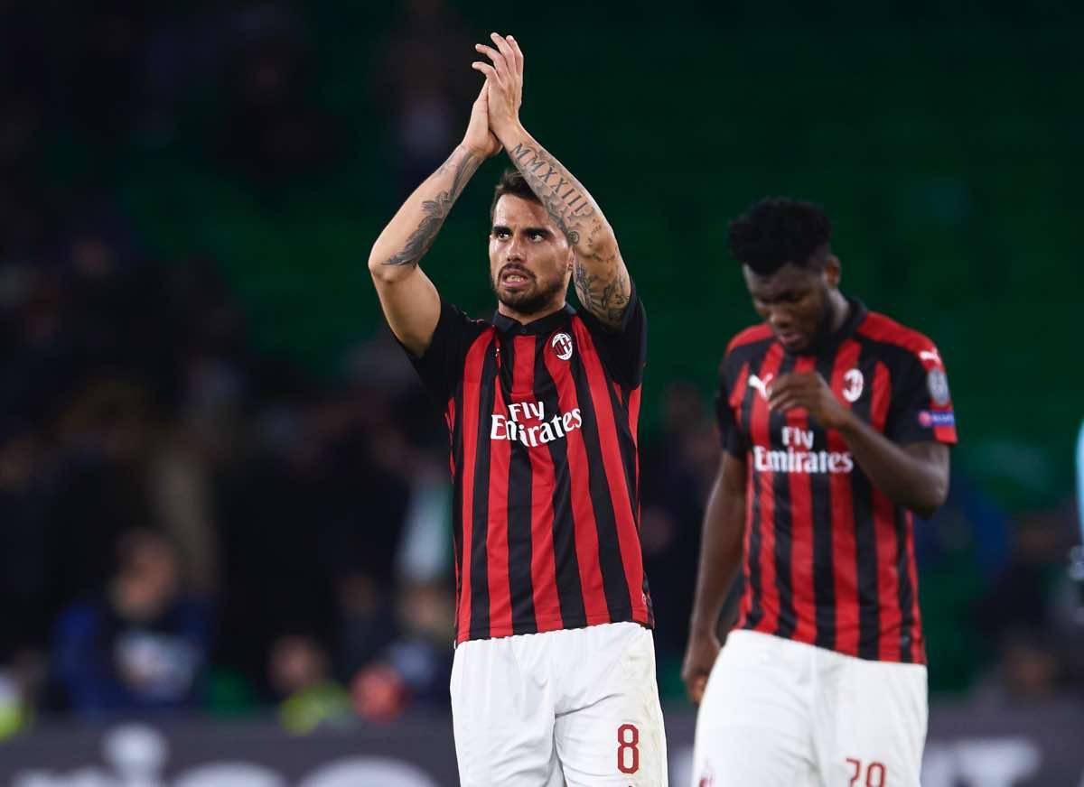 calciomercato Milan Suso Fiorentina Correa