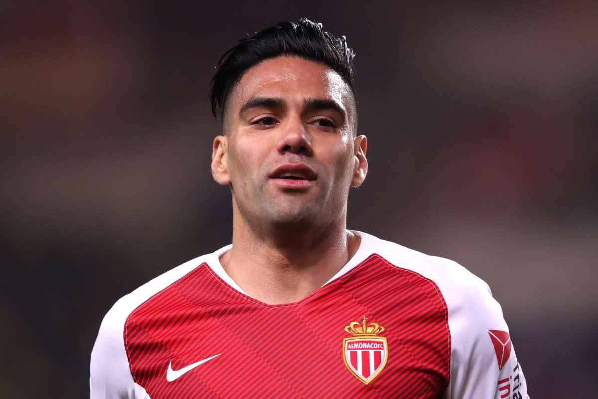 calciomercato Roma Falcao Monaco Dzeko