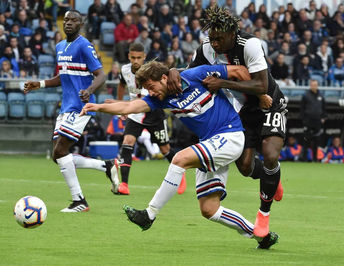 Bereszynski Sampdoria Milan