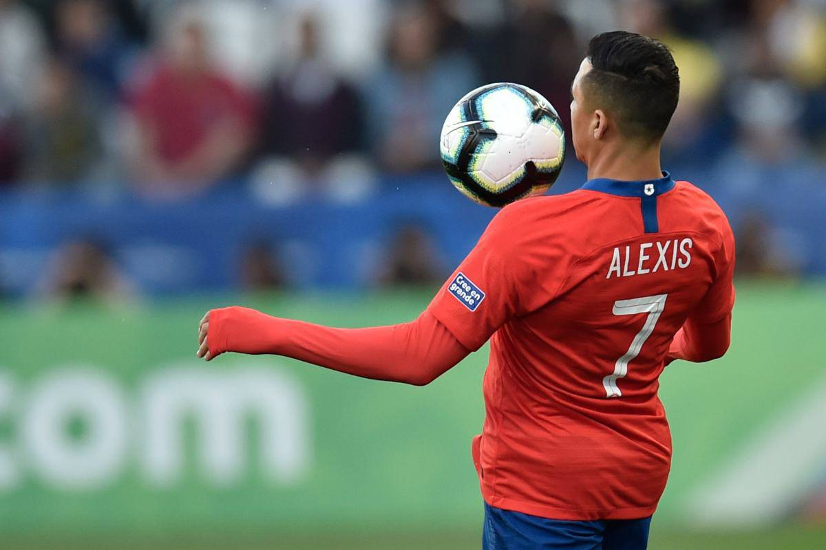 Alexis Sanchez Inter Cile
