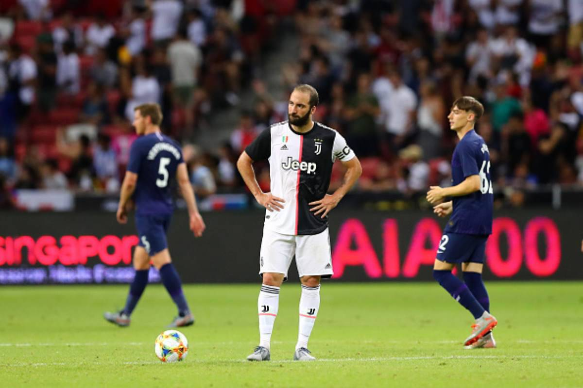 Roma Juventus Higuain Rugani