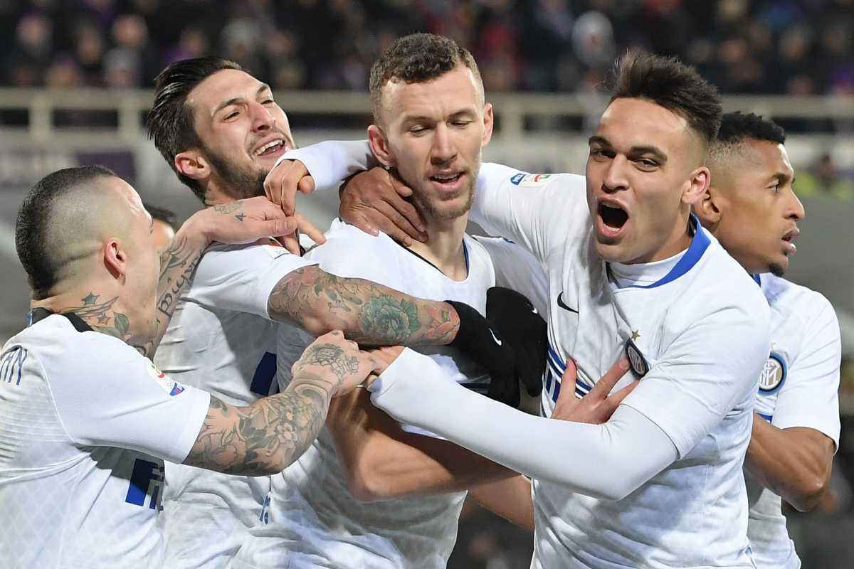 Calciomercato Roma Perisic Dzeko